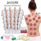 Best Cellulite Cuppings - Cupping Therapy Sets,Hijama Cupping Vacuum Suction 24 Cups Review