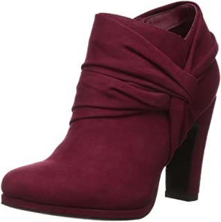 Fergalicious Women's Cheat Ankle Boot, Red, 5.5