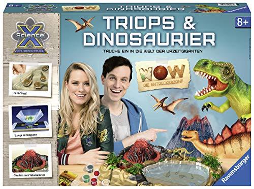 Ravensburger 18906 ScienceX Wow Triops und Dinosaurier