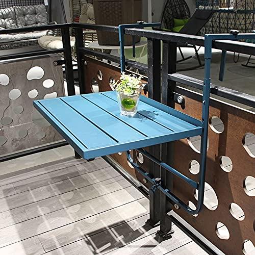 ARCH @WRJ Mesa Colgante Plegable, para balcón Resistente a la Intemperie,60 *...