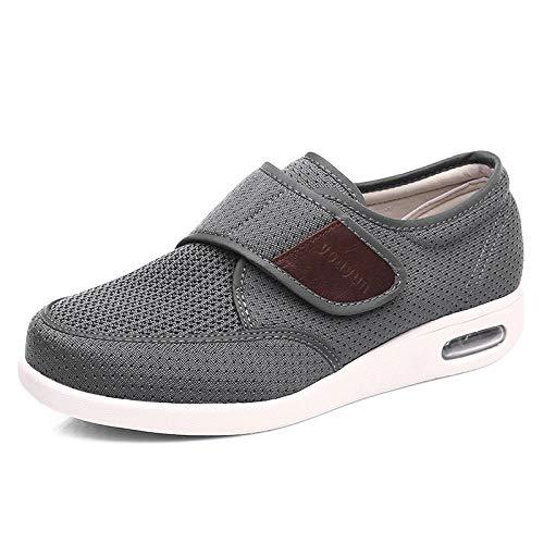B/H Zapatos DiabéTicos para Hombres,Agregue Fertilizante y ensanche...