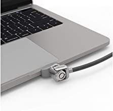 Maclocks Universal Ledge Security Lock Slot Adapter for MacBook Pro Touch Bar and Non-Touch Bar Models with Keyed Cable Lock (UNVMBPRLDG01KL)