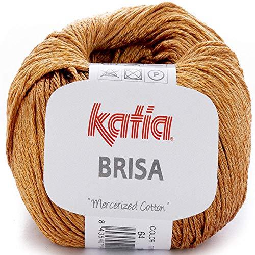 Lanas Katia Brisa Ovillo de Color Dorado Cod. 64