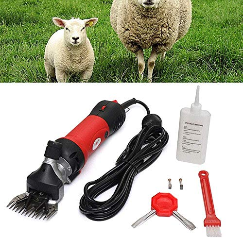 A-Generic Sheep Shear 690W Electric Sheep Shearer 2400rpm Wool Scissors...