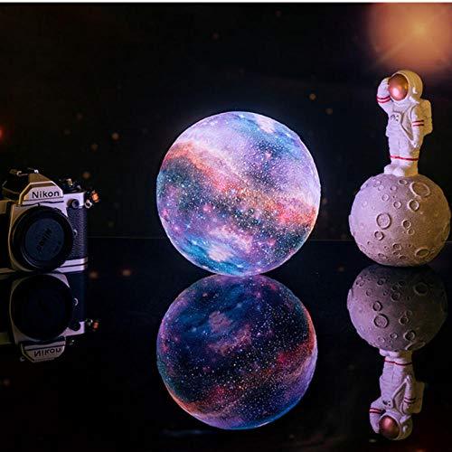 3D-Druck Star Moon Lampe Bunte Veränderung Touch Home Decor Geschenk USB Led Nachtlicht Galaxy Lamp-16_Colors_20cm-7.87inch