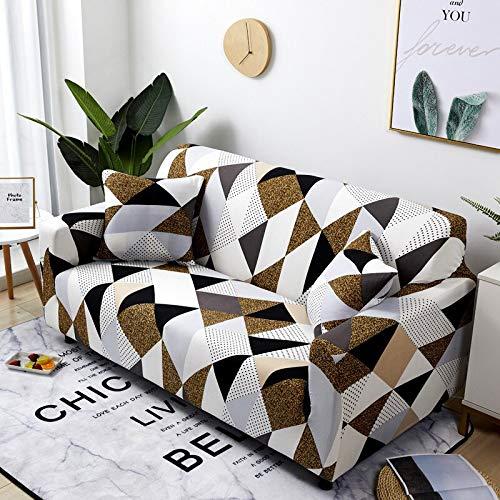 WXQY Housse de canapé de Salon en Spandex Extensible, canapé Extensible Moderne, Housse Anti-fouling, Housse de canapé en Tissu A3 4 Places