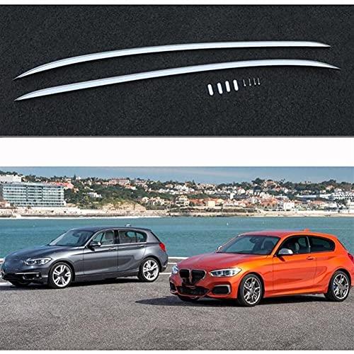 XIAOZHIWEN Barras de Equipaje de Rack de Techo de automóviles Cajas de riel de Barras Cruzadas Cruzadas para BMW F20 1 Serie Hatchback 5 Puertas 2012-2018