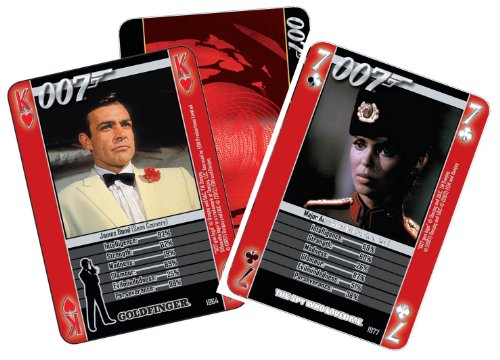 James Bond - Heroes And Villains Playing Cards