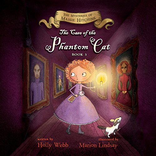 The Case of the Phantom Cat audiobook cover art