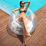 Flamingueo Sofa Hinchable - Puff Gigante, Sillon Hinchable, Sofas Hinchables Habitacion, Puff salon, Puff Pera, Colchon...