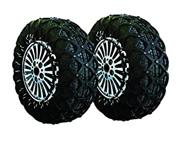 Jeremywell Anti Slip Security Natural Rubber Snow Tire Chain for Cars/SUV/Trucks Tire 235/60R18 265/65R16 235/85R16