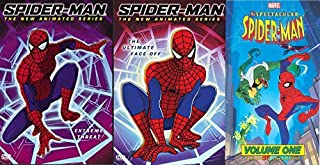 Marvel's Amazing Spider-Man Bundle: The Animated Series: Spider-Man Extreme Threat & The Ultimate Face-Off & The Spectacular Spider-Man Vol 1- (3 DVD Bundle)