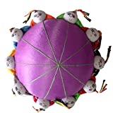 TECH-P Creative Life 4' Oriental Tang Dynasty Needle Pin Cushion with 10 Toy...