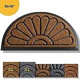 Extra Durable Door Mat Outdoors - Door Mat - Entry Rug - Outdoor Door Mat - Non-Slip Waterproof Thin Doormat Outdoor...