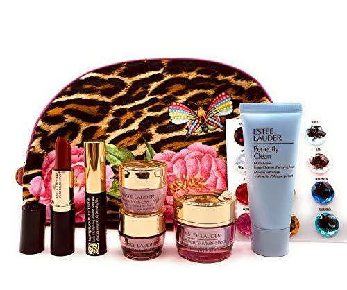 Estee Lauder 2020 6pcs Gift Set Tote Bag Skincare Makeup Resilience Multi-Effect