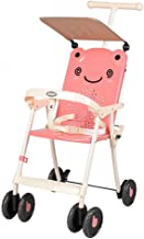 ZL Baby Stroller, Light and Easy to Carry Children's Trolley, Simple Baby Infant Stroller Connect Travel System Stroller,B