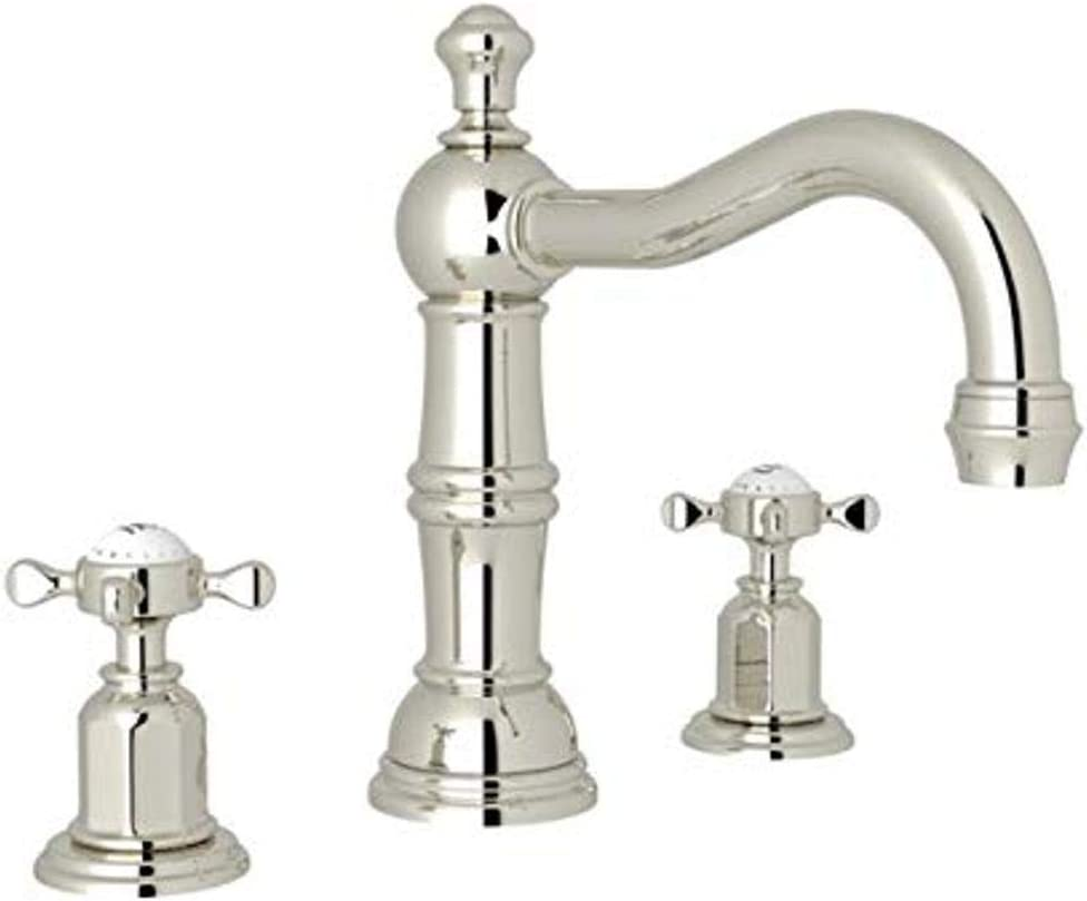 Rohl U 3721x Pn 2 Lavatory Faucets Polished Nickel Touch On Bathroom Sink Faucets