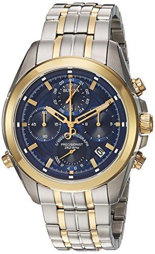 Bulova Orologio Cronografo Quarzo Uomo con Cinturino in Acciaio Inox 98B276