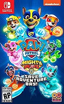 PAW Patrol Mighty Pups Save Adventure Bay for Nintendo Switch/PS4/XB1