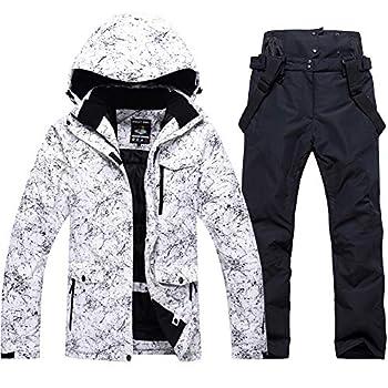 Fashion Women s High Waterproof Windproof Snowboard Colorful Printed Ski Jacket and Pants