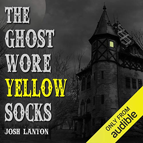 The Ghost Wore Yellow Socks audiobook cover art