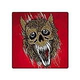 13 cm x 13 cm für Dämonenwolf Persönlichkeit Kreative Aufkleber Autozubehör Karosserie für Auto Auto Graffiti-Aufkleber