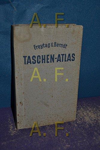 Freytag & Berndt Taschen-Atlas. Mit einem geographischen Namenverzeichnis. Statistische Angaben über alle Staaten der Erde (Rückseitenteil)
