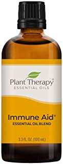 Plant Therapy Immune Aid Essential Oil Blend 100 mL (3.3 oz) 100% Pure, Undiluted, Therapeutic Grade
