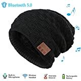 Repokevin Bluetooth Beanie Music Hat Winter Knit...