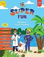 Super Fun Preschool Activity Workbook 3-5