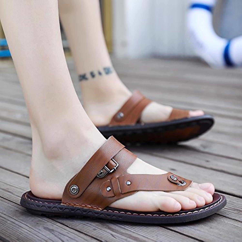 @Sandals Summer New, Men'S Toes, Korean shoes, Flip Flops, Men'S shoes, Slippery Slippers.