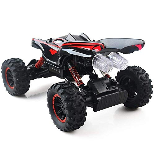RC Crawler kaufen Crawler Bild 1: RC Car Off Road 2 4GHz RC Trucks 1 14 4WD High Speed Electric Remote Control Racing Cars Drift SUV Red by Crazepony UK*
