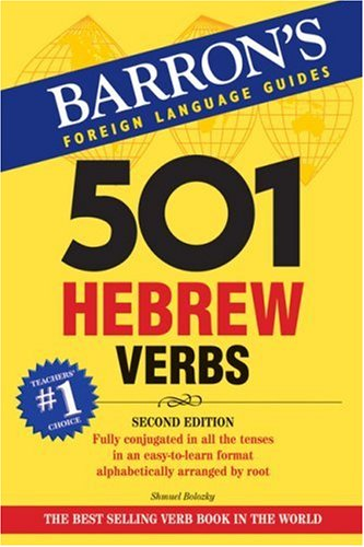 501 Hebrew Verbs (501 Verb Series)