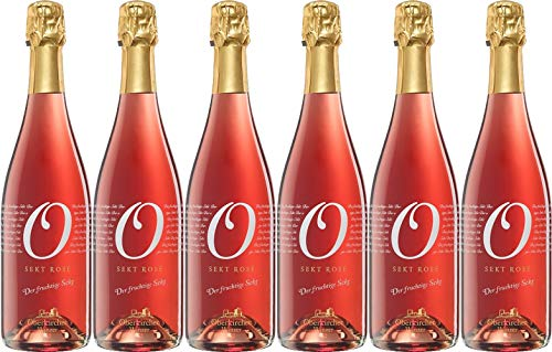 Oberkircher Winzer Collection O Sekt cuvée rosé Trocken (6 x 0.75 l)