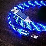 Lsooyys Cable cargador de Iphone Led Bajando Luz Magnética Carga Para Iphone 12 12pro 12pro Max 11 X Xr 8 7 6S Se 5 5S Ipad