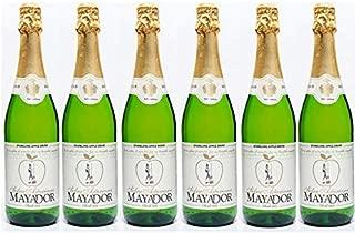 Sidra espumosa Mayador 0.0% alcohol, caja de 6 botellas de