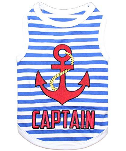 Parisian Pet Captain - Camiseta para Perro, Talla Grande