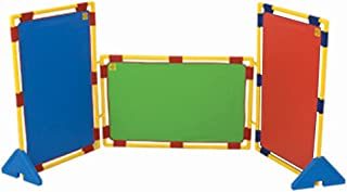 Childrens Factory Kids Rectangular Rainbow PlayPanel Set - Set of 3