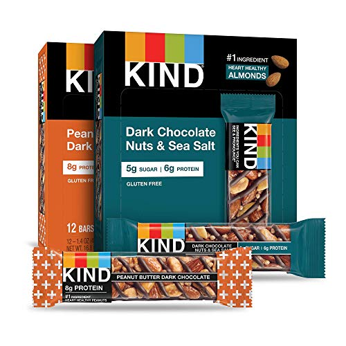 KIND Bars, Variety Pack, Gluten Free, 1.4 Ounce Bars, 24 Count
