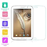 fenrad® 9H Hartglas Panzerglas Glas Folie Schutzfolie Schutzglas Panzerfolie Bildschirmschutzfolie Bildschirmschutz für Samsung Galaxy Note 8.0 N5100 / N5110