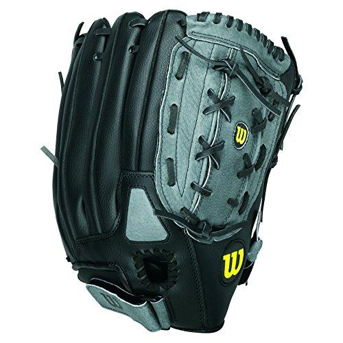 Wilson A360 Baseball Glove, Grey/Black/White, Right Hand Throw,...