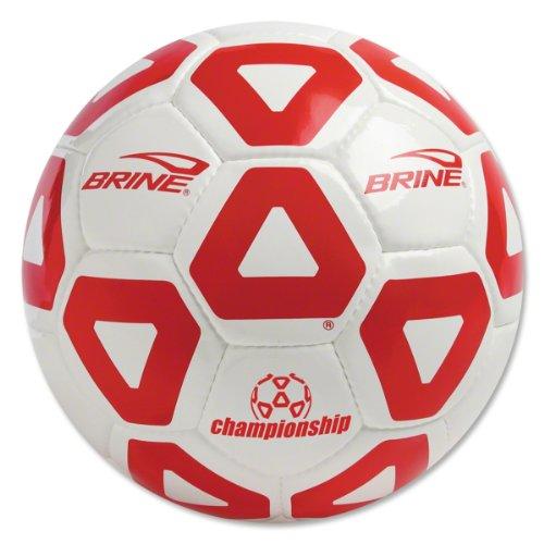 Brine Championship 2013 Soccer Ball (Scarlet, 5)