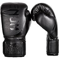 Venum Unisex Adult Challenger 2.0 Boxing Gloves, Black/Matte, 12 oz