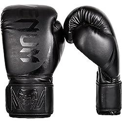 Venum Erwachsene Boxhandschuhe Challenger 2.0, Schwarz/Schwarz, 14 oz