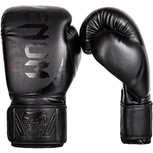 Venum Gants de boxe Mixte Adulte, Noir (Noir Mat), 12 oz