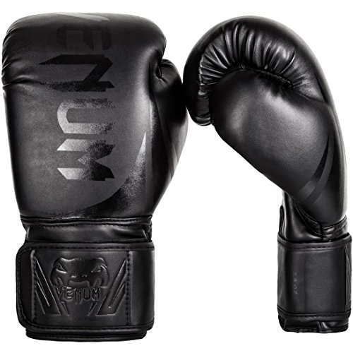 Venum Challenger 2.0 Boxing Gloves - Black/Black - 14-Ounce