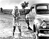 OnlyClassics Cool Hand Luke Sexy Actress Joy Harmon Washing CAR All Wet 8X10 Photo Pinup Girl