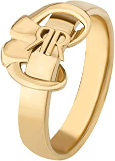 Cerruti 1881 Gold Plated Stainless Steel Ring For Women - CRJ R005SG56