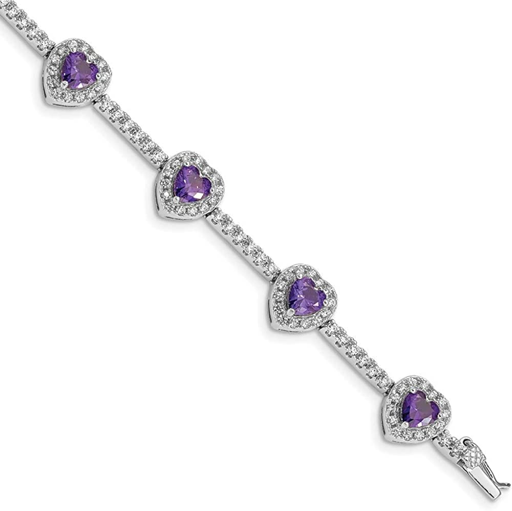 Ryan Jonathan Fine Jewelry Sterling Import Cu and Amethyst Silver Clear Limited time trial price