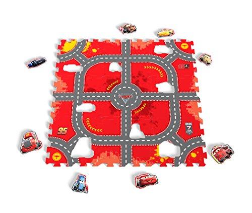 Tatamiz ttmz209Disney Cars–Alfombra puzzle espuma de 9piezas